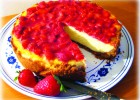 Cheesecake con fragole e Philadelphia